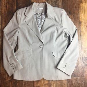 CAbi Dynamo Blazer Size 14 Style 832 Color-Mist